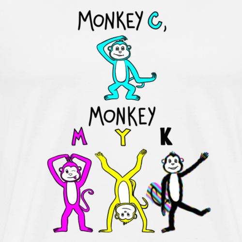 monkey see myk - Men's Premium T-Shirt