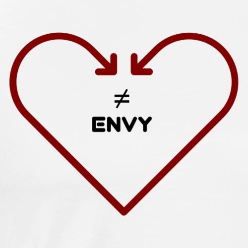 love does not envy - Men's Premium T-Shirt
