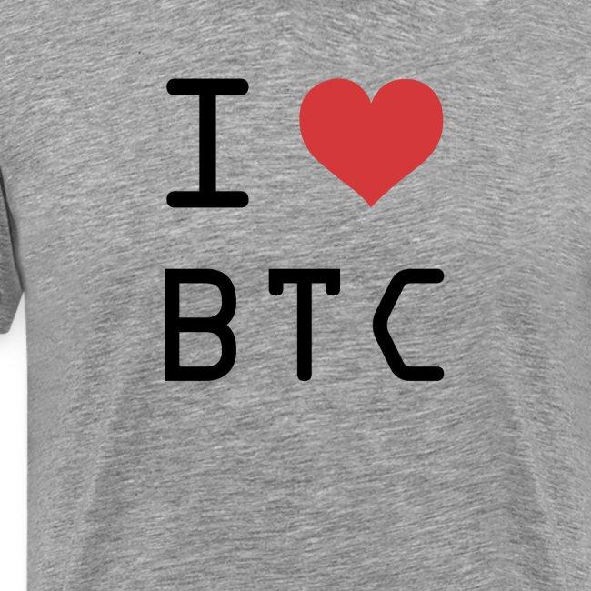 I HEART BTC (Bitcoin)