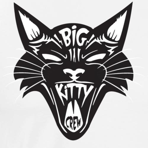 Big Kitty-Screaming Cat - Men's Premium T-Shirt