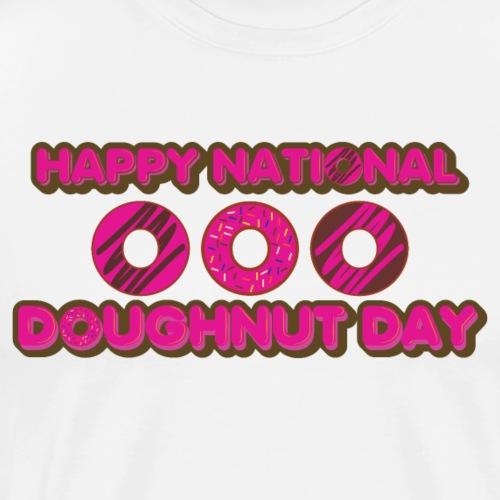 Happy Doughnut Day - Men's Premium T-Shirt