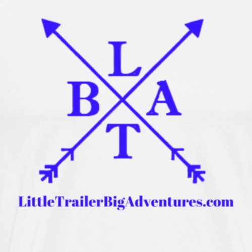 Blue LTBA Logo - Men's Premium T-Shirt