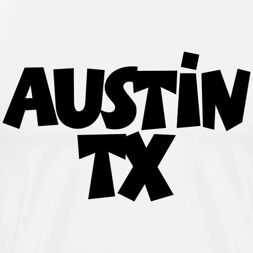 Austin TX - Men's Premium T-Shirt