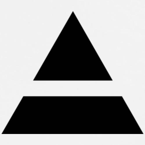 Pyramid - Men's Premium T-Shirt
