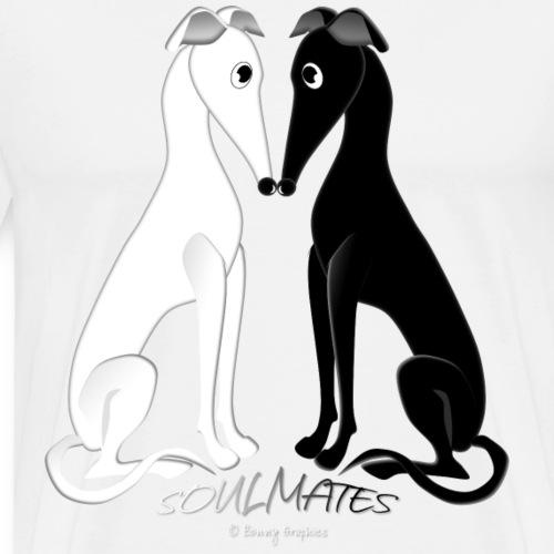 Soulmate hounds - Men's Premium T-Shirt