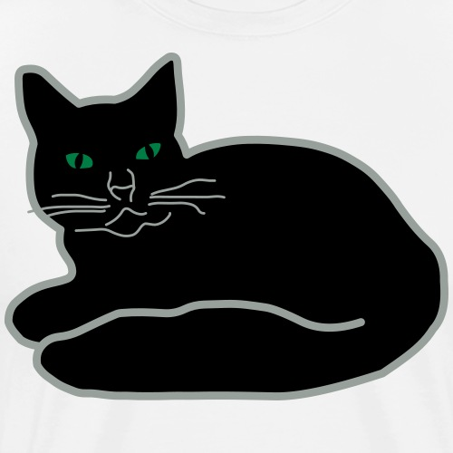 Black Kitty - Men's Premium T-Shirt