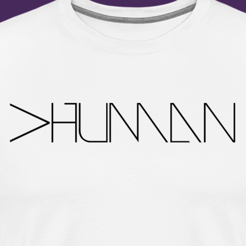 More than human - Men's Premium T-Shirt