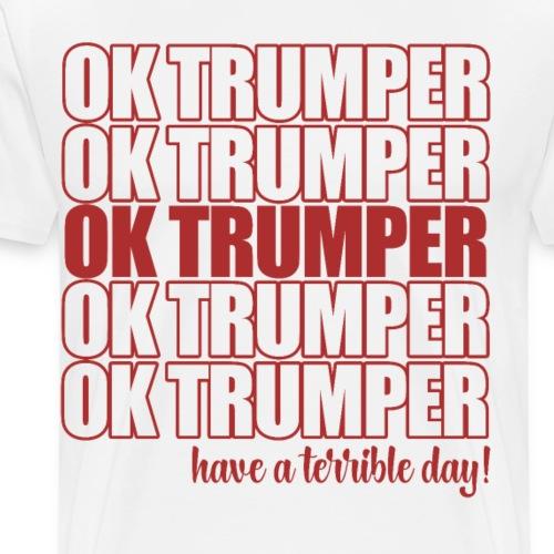 OK trumper - Men's Premium T-Shirt