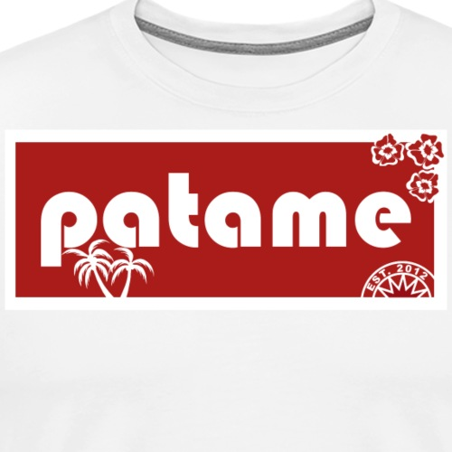 Patame ALOHA Old School - Men's Premium T-Shirt