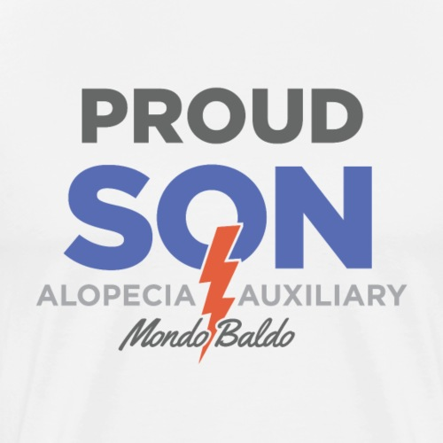 Alopecia Auxiliary - Proud Son - Men's Premium T-Shirt