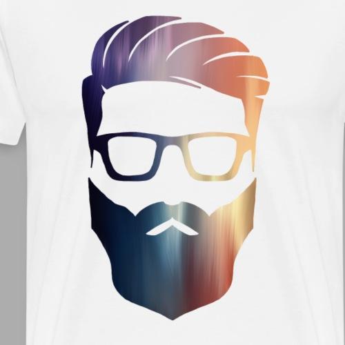 PAINTED HIPSTER - Men's Premium T-Shirt
