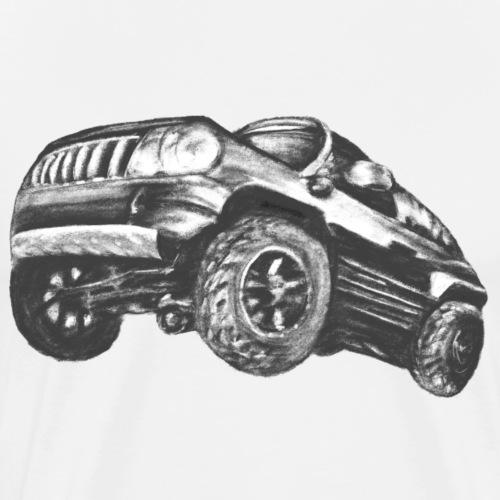 SUV CAR TRUCK - Men's Premium T-Shirt