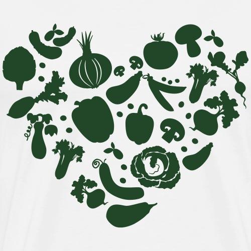 Veggie Love - Men's Premium T-Shirt