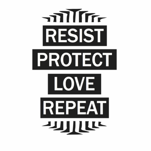 resist repeat - Men's Premium T-Shirt