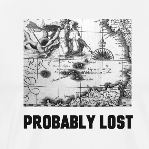 Probably Lost - Men's Premium T-Shirt