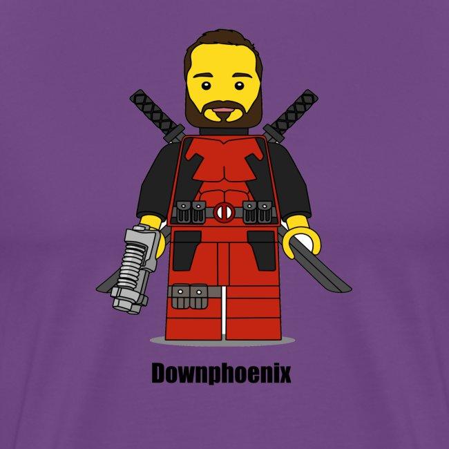 Downphoenix Character Logo