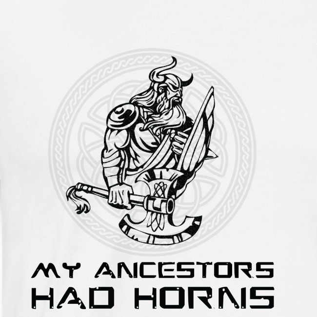horned helmet tshirt design 2