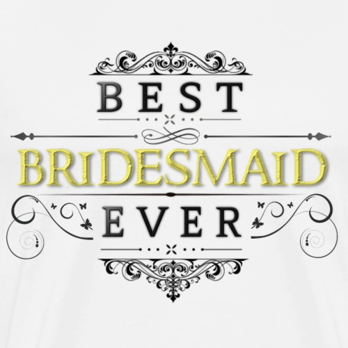 Bridesmaid - Men's Premium T-Shirt