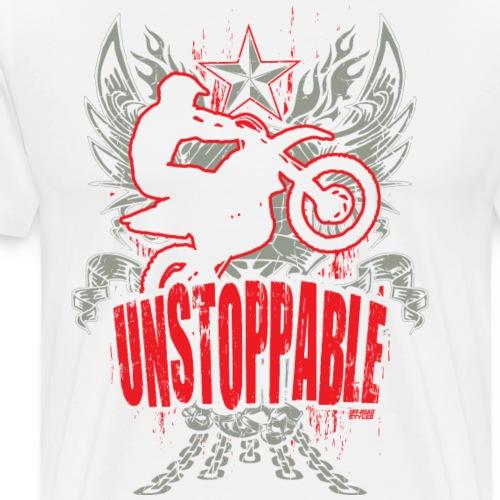 Motocross Unstoppable - Men's Premium T-Shirt