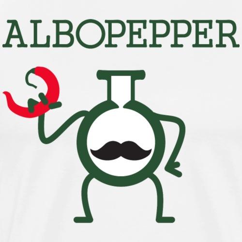 Albopepper Stache Icon - Men's Premium T-Shirt