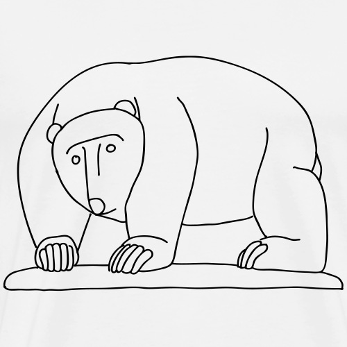Bears Bridge Moabit - Men's Premium T-Shirt