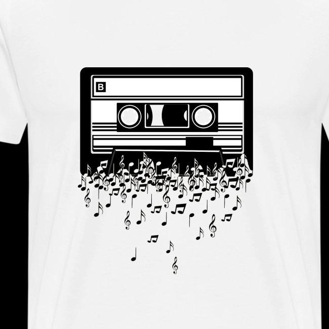 Music Notes Cassette Tape