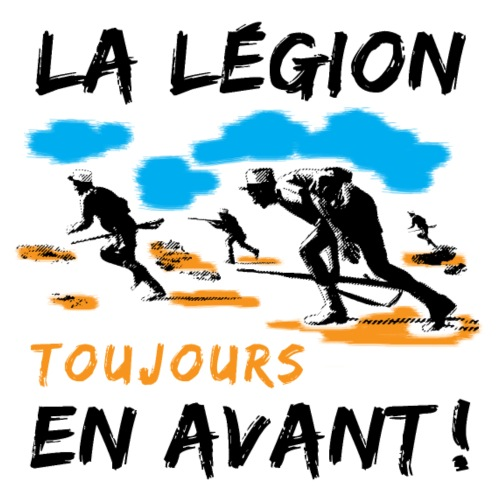 La Legion - Toujours en avant - Men's Premium T-Shirt