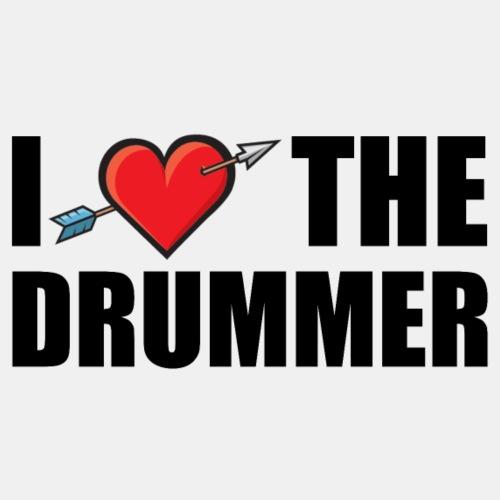 I love the drummer - Men's Premium T-Shirt