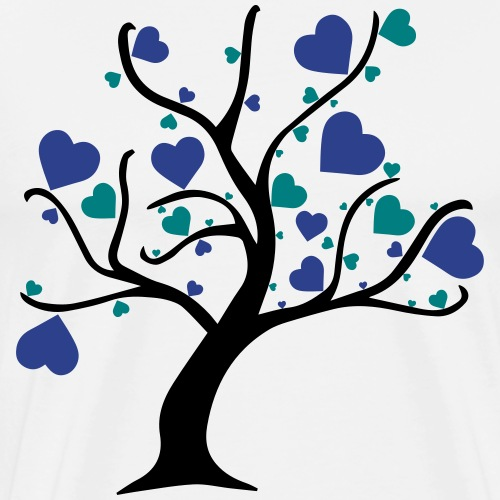 Tree of Hearts - Men's Premium T-Shirt