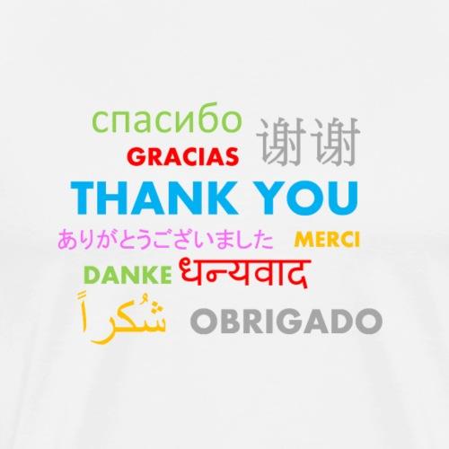 thank you international words