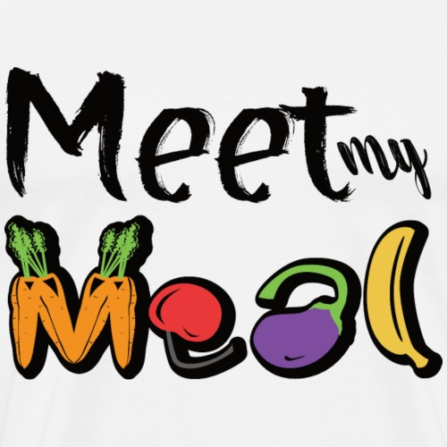 Meet my Meal Vegan Fruits & Veggies Design