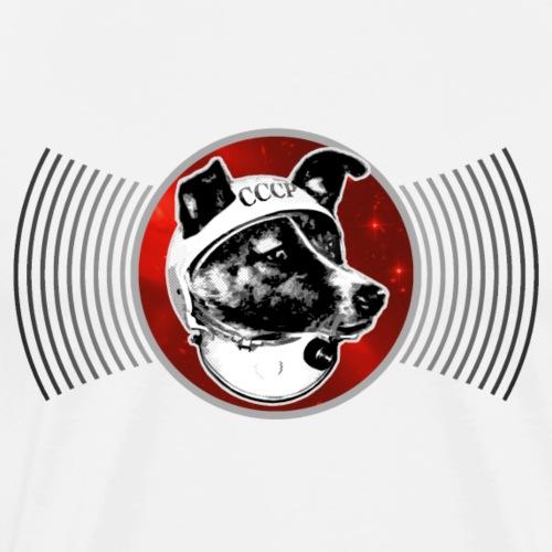 Laika The Space Dog - Men's Premium T-Shirt