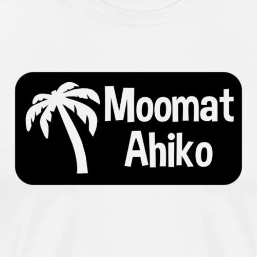 Moomat Ahiko retro black - Men's Premium T-Shirt