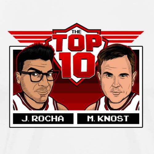 The Top 10 N.B.A. Jams - Men's Premium T-Shirt