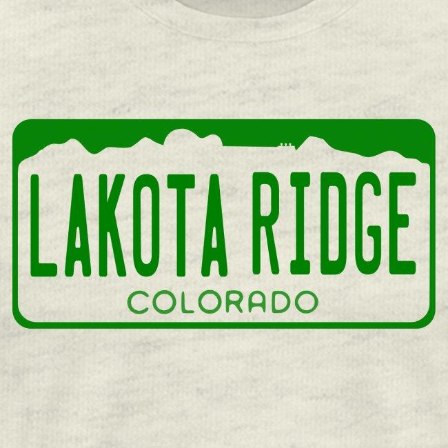 Lakota Ridge License Plate