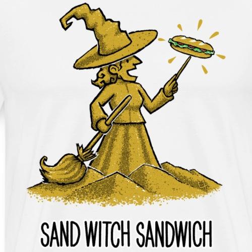Sand Witch Sandwich V2 - Men's Premium T-Shirt