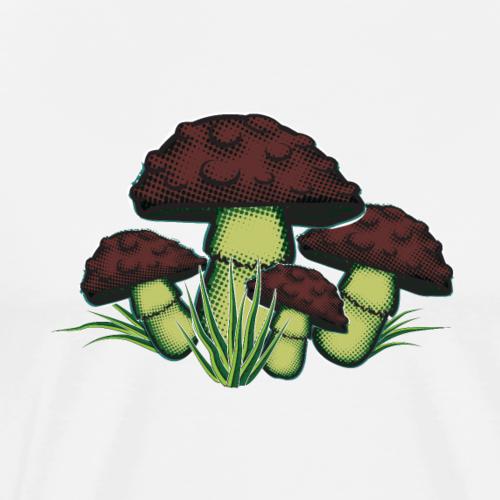 Mushrooms - Men's Premium T-Shirt
