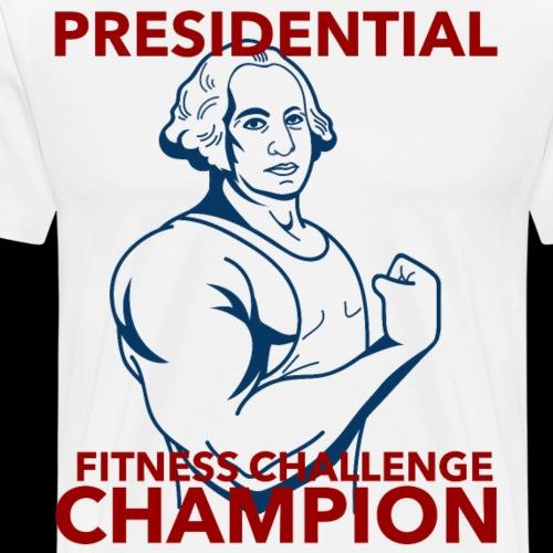 Presidential Fitness Challenge Champ - Washington - Men's Premium T-Shirt