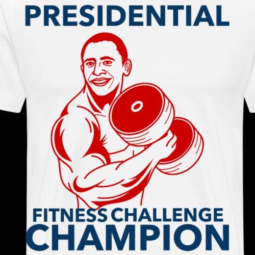 Presidential Fitness Challenge Champ - Obama - Men's Premium T-Shirt