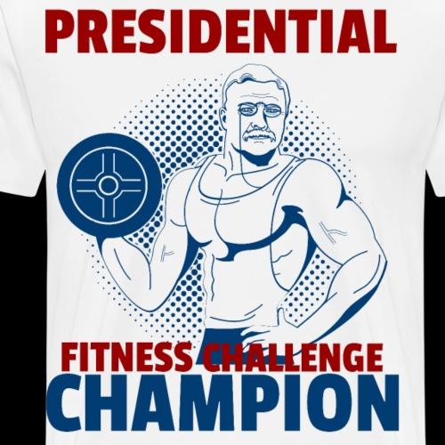 Presidential Fitness Challenge Champ - Roosevelt - Men's Premium T-Shirt