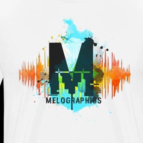 Melographics Radiowave - Men's Premium T-Shirt
