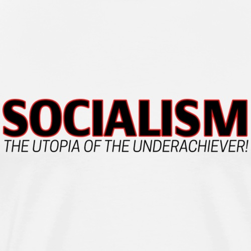 SOCIALISM UTOPIA - Men's Premium T-Shirt