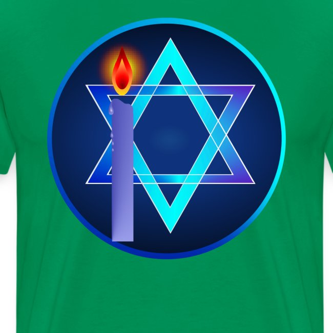 Star Of David and Light