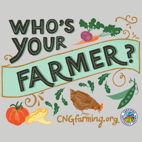 Who's Your Farmer - Men's Premium T-Shirt
