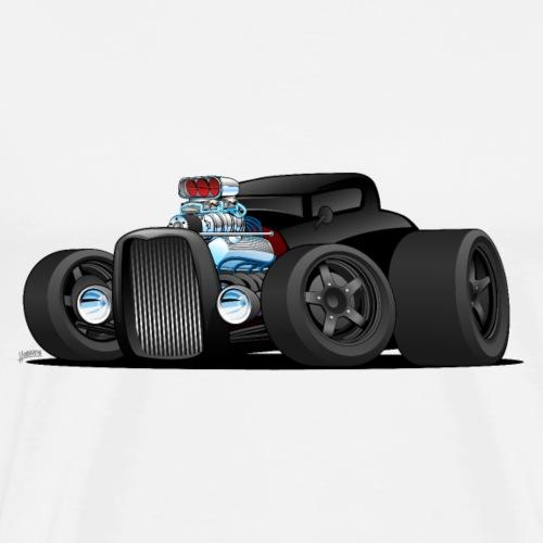 Custom Black Hot Rod Coupe - Men's Premium T-Shirt
