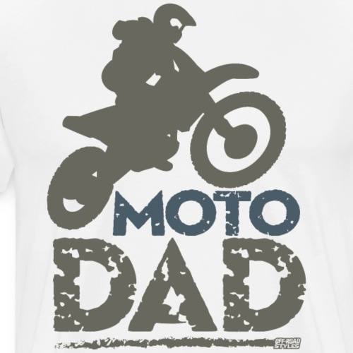 Dirt Bike Dad - Men's Premium T-Shirt