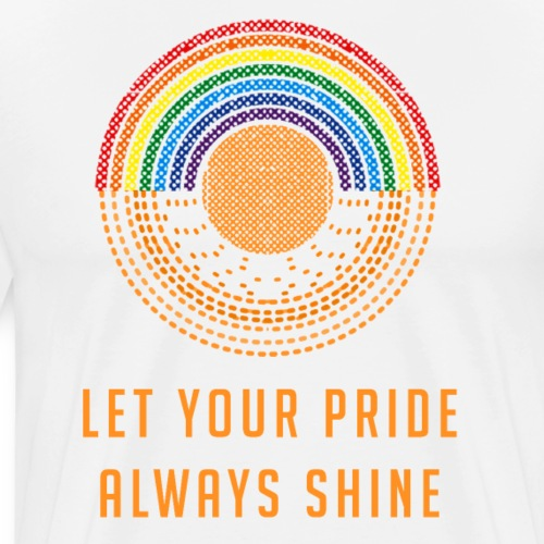 Let Your Pride Always Shine by Liz Williams - Men's Premium T-Shirt