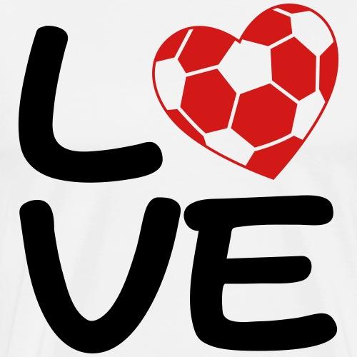 Soccer Love - Men's Premium T-Shirt