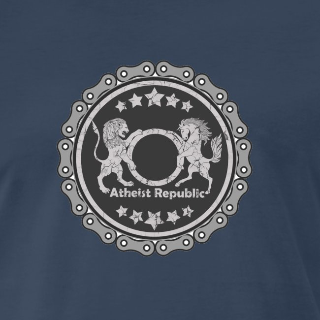 Atheist Republic Logo - Gear Circle