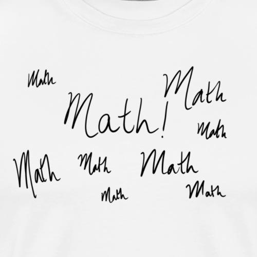 Math in my mind - Men's Premium T-Shirt